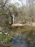 Wooded Stone Troll Bridge 3 by FantasyStock