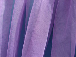 Purple Tulle Fabric Texture by FantasyStock