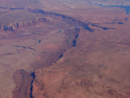 Grand Canyon from 39069 Feet 5 by FantasyStock