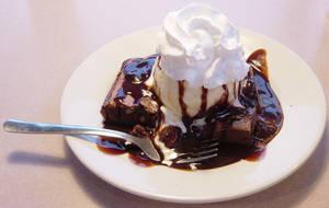 Brownie Delight Dessert Prop by FantasyStock