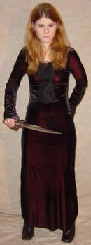 Jodi Black Dress Defensive 2 by FantasyStock