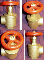 Brass Firehose Valve 4 Views by FantasyStock