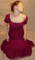 Jodi Burgundy Formal Pose 6 by FantasyStock