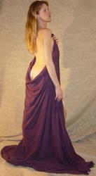 Danielle Draped in Purple 2 by FantasyStock