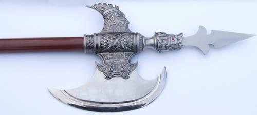 Conjal Polearm Axe Spear Tip by FantasyStock