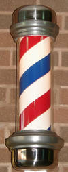 Barber's Shop Pole by FantasyStock