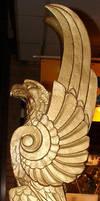 USNA Dahlgren Hall Statue by FantasyStock