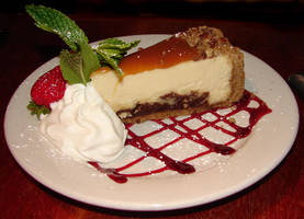 Chocolate Turtle Cheesecake 1 by FantasyStock