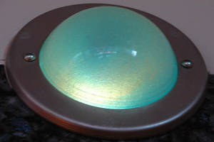 Futuristic Green Wall Sconce by FantasyStock