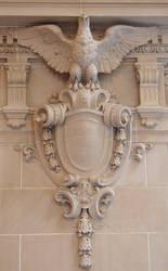 USNA Memorial Hall Eagle by FantasyStock