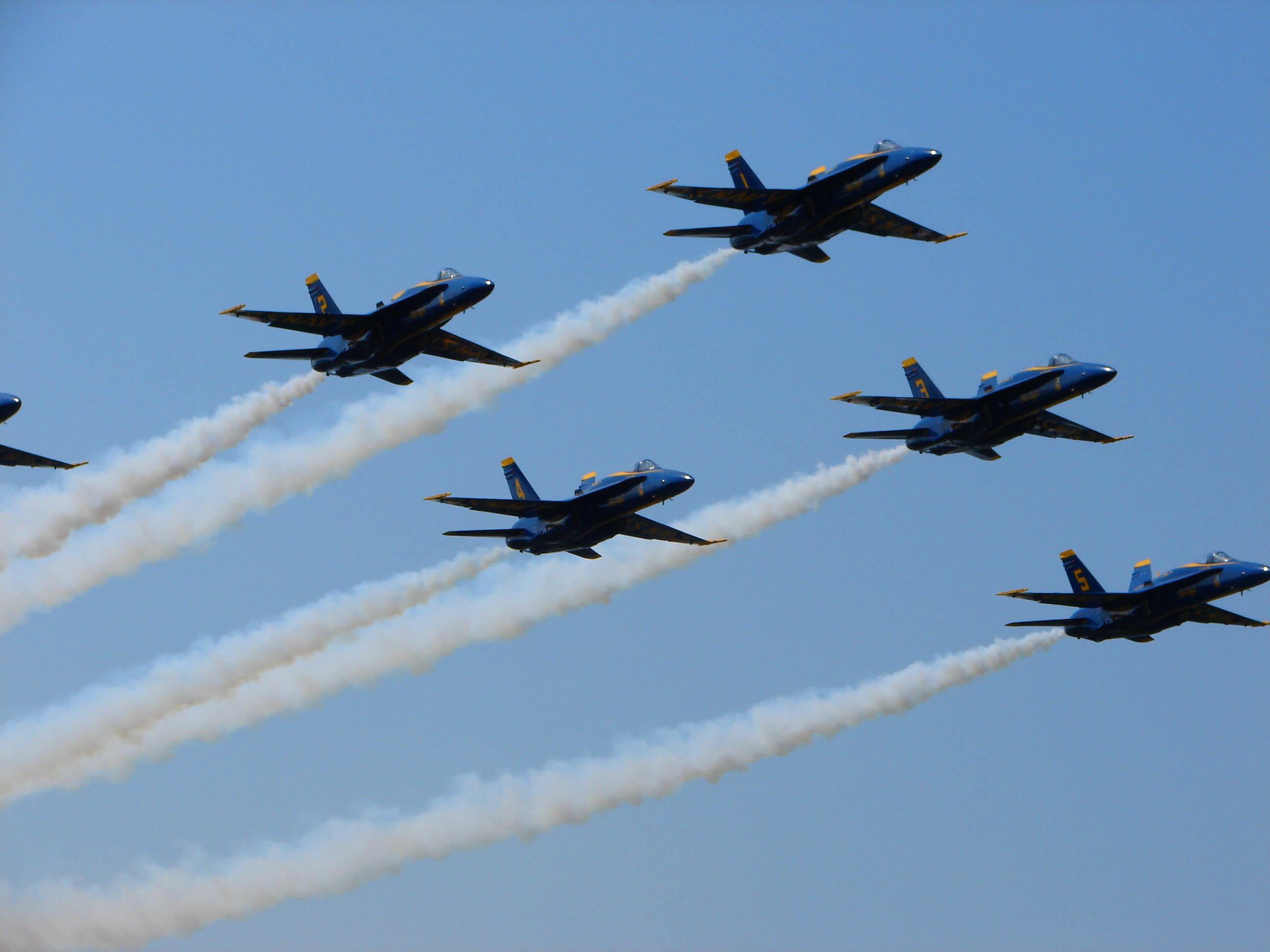 Blue Angels Air Show Flight 04 by FantasyStock