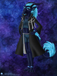 Creature Exchange: Navy Suits Cyan by Jcyapha
