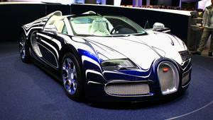 Frankfurt 2011: Bugatti Veyron L'Or Blanc by randomlurker