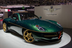 Geneva 2014: Touring Superleggera Disco Volante by randomlurker