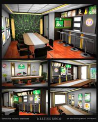 CND Meeting Room by kusanagisensei