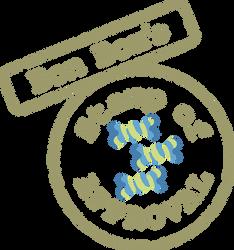 Bon Bon Stamp Of Approval by tiwake