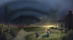The Tornado by KendallHaleArt