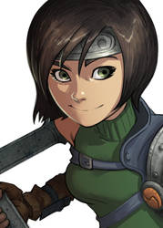 Yuffie by KendallHaleArt