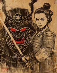 Star Wars Samurai by KendallHaleArt