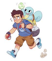 I can't PokemonStop by KendallHaleArt