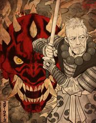 Star Wars Samurai II by KendallHaleArt