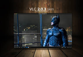 VLC 2.0.4 skin by MathieuOdin