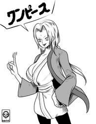 Tsunade (One Piece Style!!) by Robotori