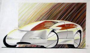 Car Design Concept Sketches 08 by Popgrafix