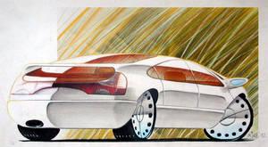Car Design Concept Sketches 07 by Popgrafix