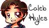 Chibi Caleb Hyles Stamp by Serverdown2671