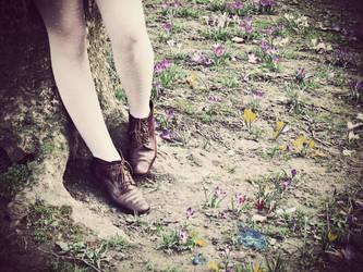 vintage feet by kumiwi
