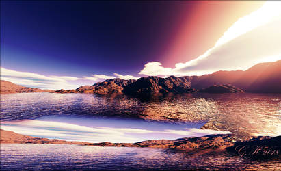 picturesque landscape by GLO-HE