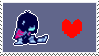 deltarune 01 // stamp by TOONYTlME