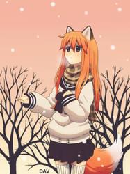 Fox girl by DAV-19