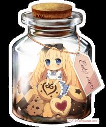 Alice in a Bottle by DAV-19