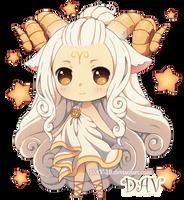 Chibi Aries by DAV-19
