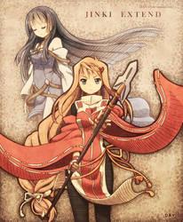 Akao and Aoba by DAV-19