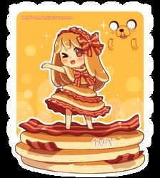 Bacon Pancake by DAV-19
