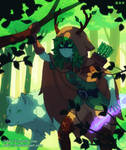 Huntress Wizard by DAV-19