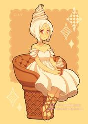 Frozen Yogurt Princess by DAV-19