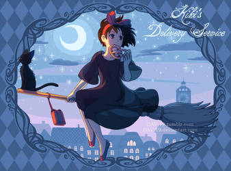 Kiki's Delivery Service by DAV-19