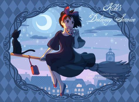 Kiki's Delivery Service by DAV-19