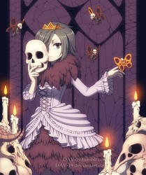 Skeleton Princess by DAV-19