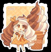 Soft Serve Ice Cream by DAV-19
