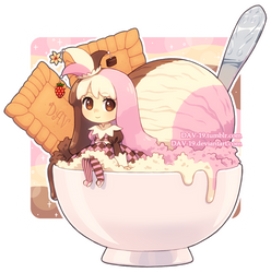 Neapolitan Ice Cream by DAV-19
