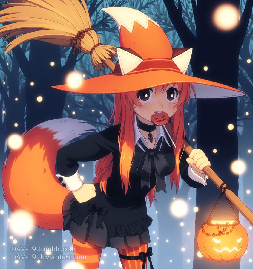 Fox Witch by DAV-19