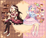 Shirahime and Nadeshiko by DAV-19