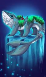 COM.- Waterfall by XkabyHydroArt