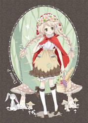 Little Mori Riding Hood by meadow-rue