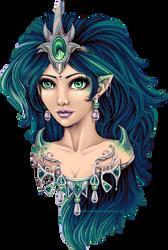 Water Nimph by Mistress-Jaeden